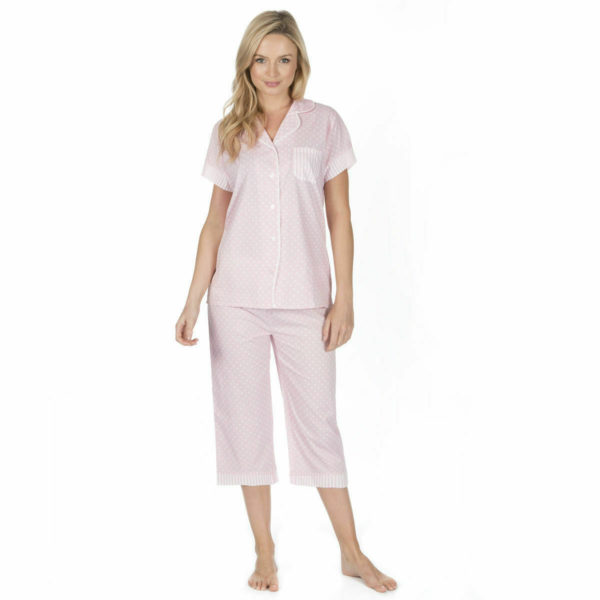 Ladies Cottonique Cotton Loungewear Selection PJ's Nightshirt