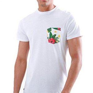 Mens Threadbare Hawaiian Floral Cotton Rich T-Shirts Rio Prodigy