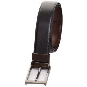 Mens Pierre Roche Reversible Real Leather Belt