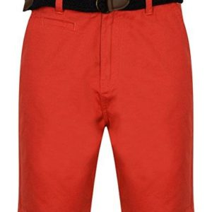 Mens Tokyo Laundry Cotton Linen Shorts Two Styles Nevado & Shadow Chino Shorts