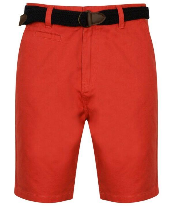 Mens Tokyo Laundry Cotton Linen Shorts Two Styles Nevado & Shadow Chino Shorts