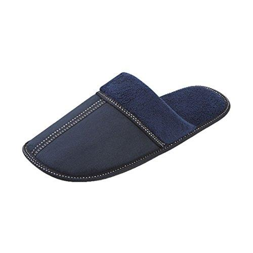 Mens Pierre Roche Slipper Collection Mule Moccasin Soft and Durable