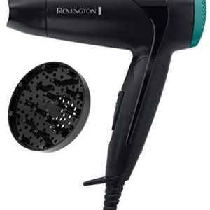 New Remington Compact Travel Hair Dryer 2000w Folding Handle & Diffuser D1500