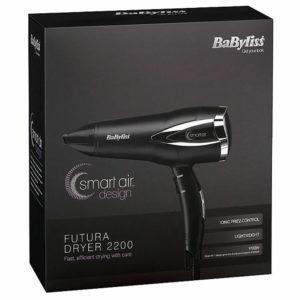 Babyliss BAB5361U Futura 3 Heat 2 Speed Ceramic Frizz Free 1700W Hairdryer