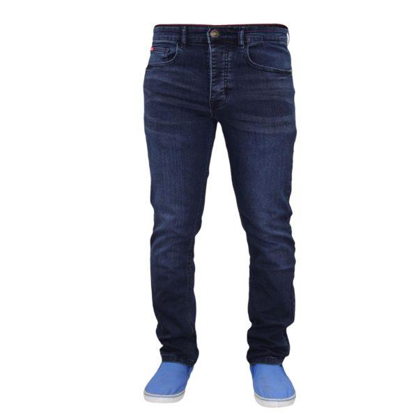 Men Skinny Slim Fit Stretch Denim Jeans Trouser Button Fly Life & Glory 36 38 40