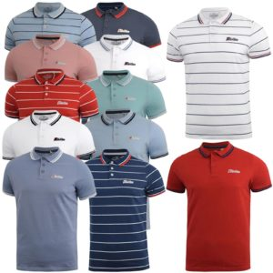Men Polo Shirt Short Sleeve Golf Badminton Casual Sport Top Life&Glory 2XL XL L