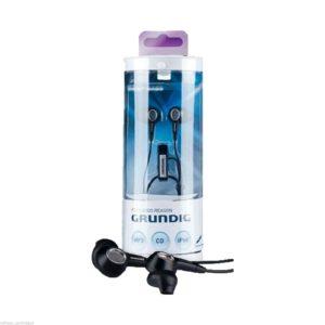 Grundig Deep Bass Stereo Earphones High Performance Sports Earphones MP3 CD Ipod