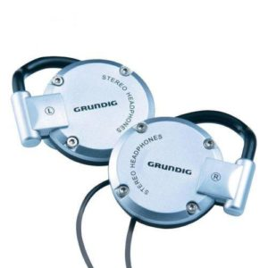 Grundig Earshelves Earphones Volume Control Headphones MP3 CD Ipod