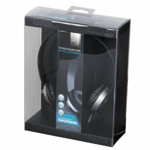 Grundig Silver Edition Stereo Headphones Turntable Earphones for Mp3 CD iPod