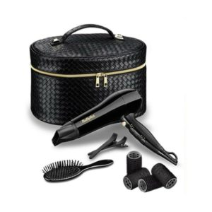 BABYLISS STYLING GIFT SET HAIR DRYER VANITY CASE & ACCESSORY 5737FGU