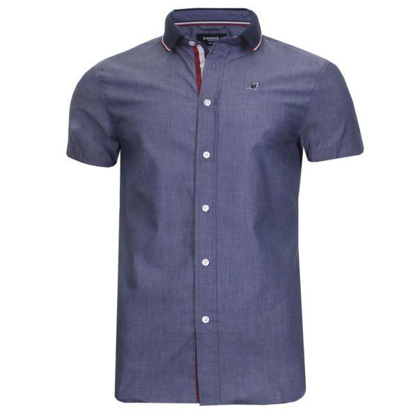 Men Short Sleeve Shirt Casual Designer Retro Summer Top Kangol Plus Size S - 6XL