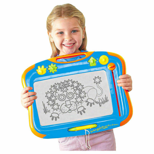 Megasketcher Fun Childrens No Mess Drawing Board with Eraser new TOMY-6555
