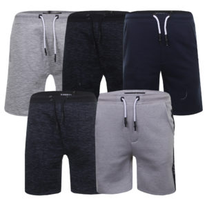 Mens Gym Joggers Jogging Loung Shorts Bottoms Sweat Pants Kangol