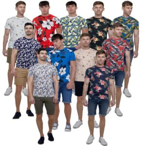 Mens All Over Print Short Sleeve T-shirt Summer Collection By Broken Standard
