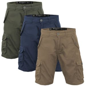 Mens Crosshatch 'Thorley' Combat Hicking Cargo Shorts