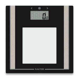 Salter Digital Body Bathroom Scale Body Fat BMI, Ultra Slim with Toughened Glass
