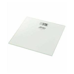 Glass Plate Digital Bathroom Scale A&d Medical Precision Body Weight