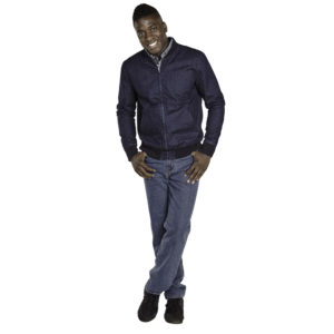 Men's Dorian Denim Jacklet by Duke