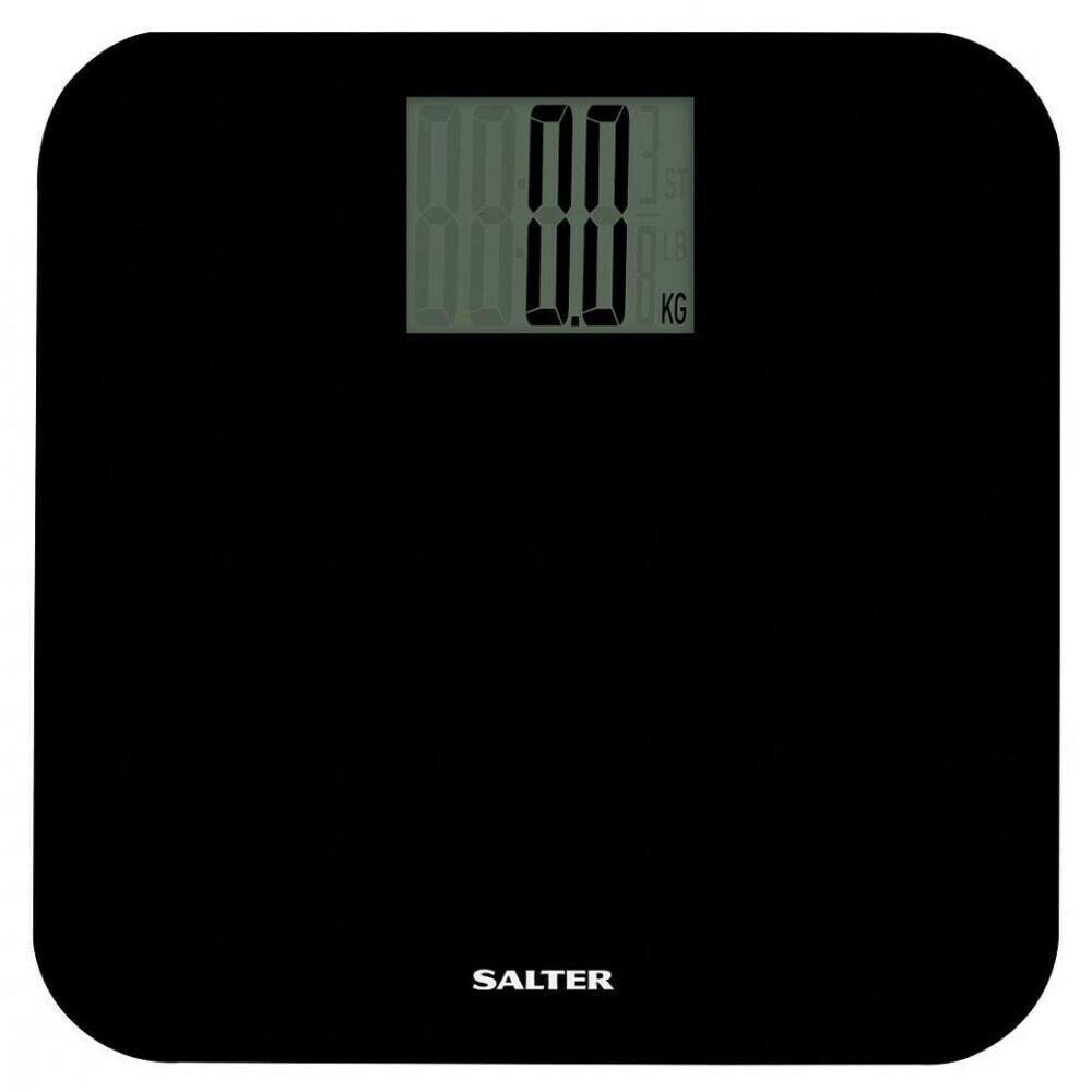Salter Digital Bathroom Scales - Black - Ultimate Brand Store