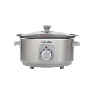 Sear & Stew 3.5L slow cooker Morphy Richards – Stainless Steel