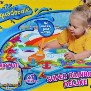 Tomy 72772 Kids Children Super Rainbow Deluxe Aqua Draw doodle Water Drawing Play Mat