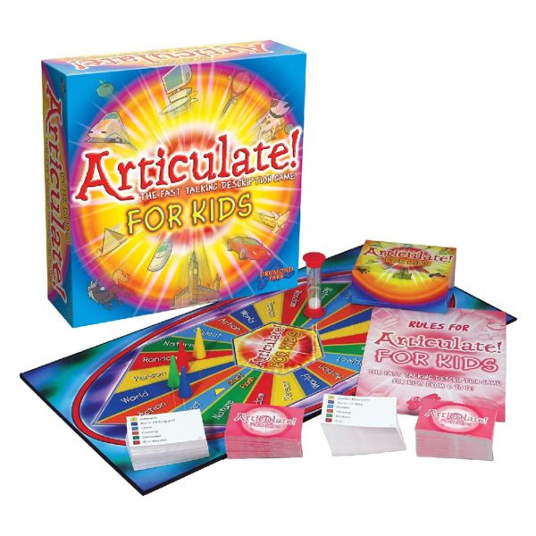 Drumond Park Articulate! For Kids - Family Kids Board Game   The Fast Talking Description Game   Family Games for Adults and Children Suitable From 6+ Years