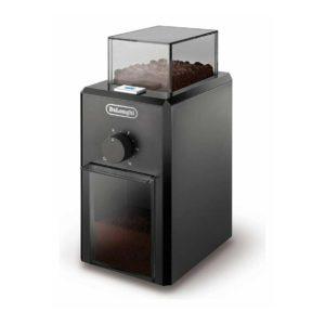 Coffee Grinder De'Longhi 12 Cups Professional Burr – Black